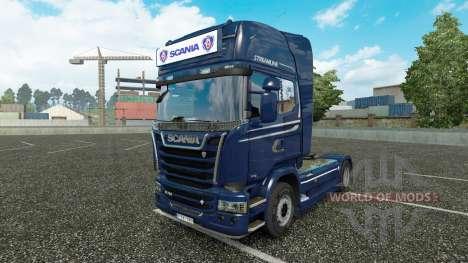 Advertising light box for Scania Streamline for Euro Truck Simulator 2