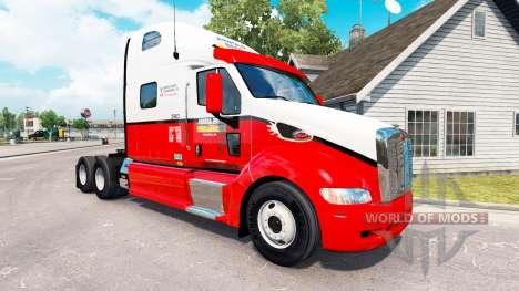 Skin Arnold Bros. the tractor Peterbilt 387 for American Truck Simulator