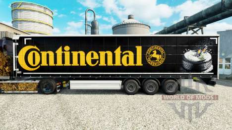 Skin Continental for semi-trailers for Euro Truck Simulator 2