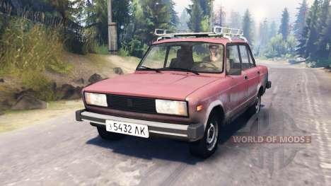 VAZ-2105 for Spin Tires