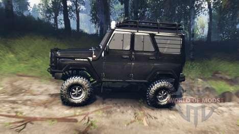 UAZ-31520 v3.0 for Spin Tires
