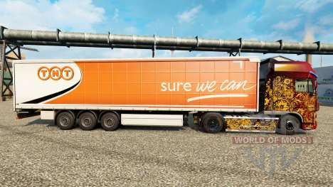 TNT skin for trailers for Euro Truck Simulator 2