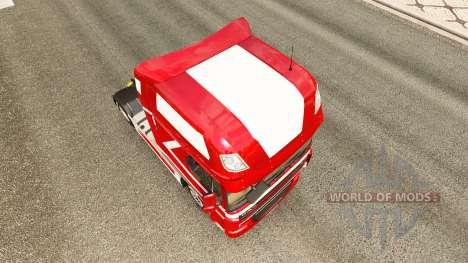 Metallic skin for DAF truck for Euro Truck Simulator 2