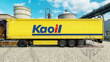 Skin Kaoil for trailers for Euro Truck Simulator 2