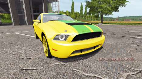 Ford Mustang for Farming Simulator 2017