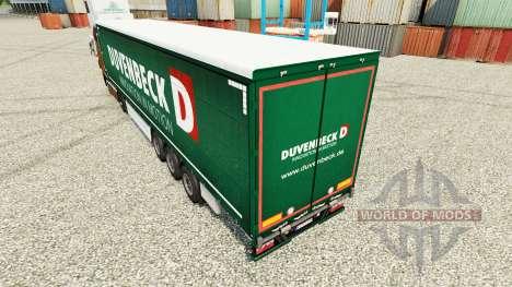Duvenbeck skin for trailers for Euro Truck Simulator 2