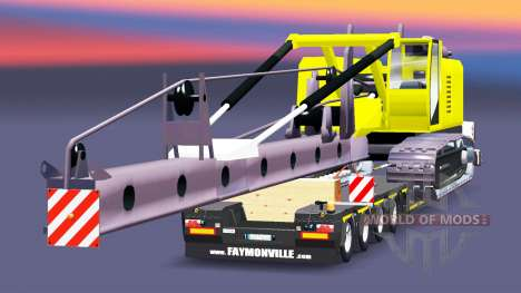 Low sweep with piling installation for Euro Truck Simulator 2