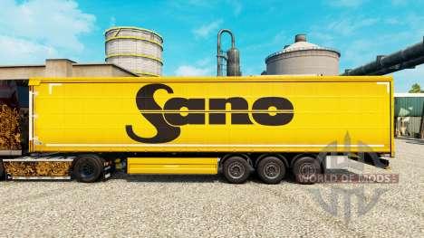 Skin Sano for trailers for Euro Truck Simulator 2