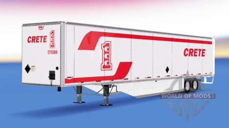 Isometric semi-trailer Wabash v2.0 for American Truck Simulator