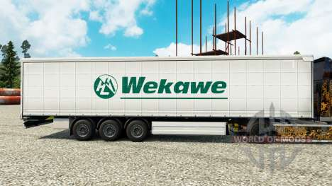 Skin Wekawe for trailers for Euro Truck Simulator 2