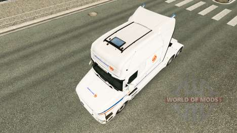 Transalliance skin for Scania T truck for Euro Truck Simulator 2