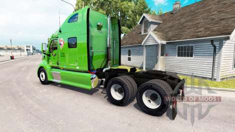 SGT skin for the truck Peterbilt 387 for American Truck Simulator