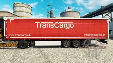 TransCargo skin for trailers for Euro Truck Simulator 2