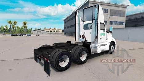 Скин Epes Transport daycab на Kenworth T680 for American Truck Simulator
