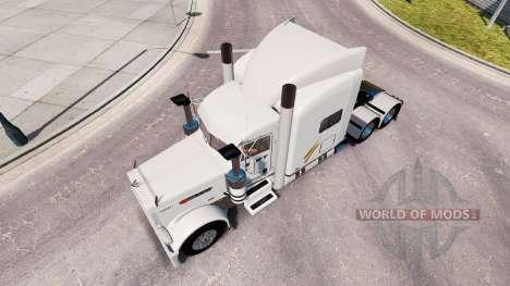 Swift skin for the truck Peterbilt 389 for American Truck Simulator