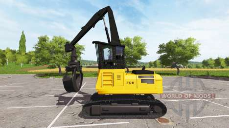 Grab backhoe loader for Farming Simulator 2017