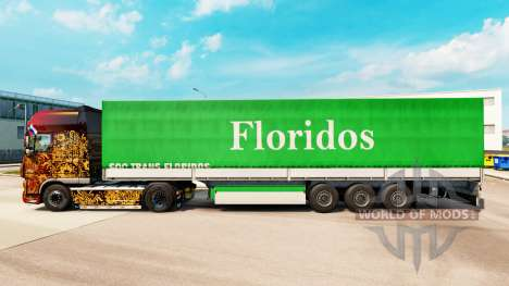 Skin Floridos for trailers for Euro Truck Simulator 2
