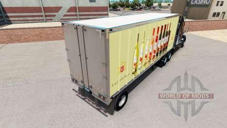 Skin E. & J. Gallo Winery in small trailer for American Truck Simulator
