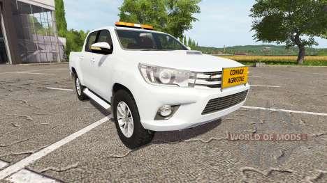 Toyota Hilux convoi agricole for Farming Simulator 2017