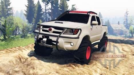 Toyota Hilux 2013 v2.0 for Spin Tires