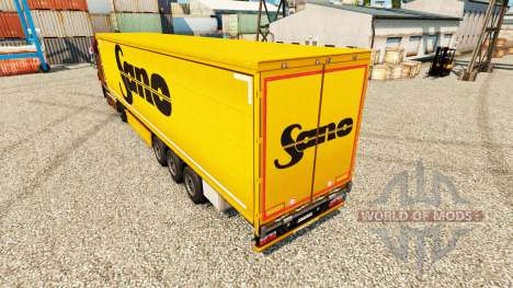 Skin Sano for trailers for Euro Truck Simulator 2