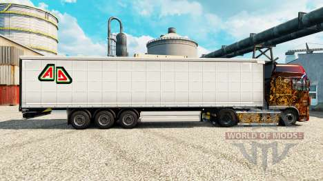 Skin Adin on semi for Euro Truck Simulator 2