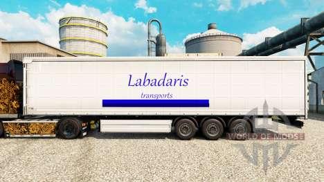 Skin Labadaris Transports on trailers for Euro Truck Simulator 2