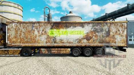 Skin Soylent Green for trailers for Euro Truck Simulator 2