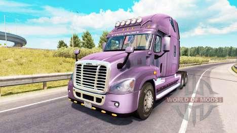 Freightliner Cascadia v2.2 for American Truck Simulator
