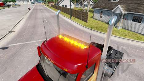 Strobe light v1.6 for American Truck Simulator
