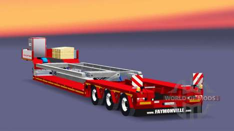 Low sweep Faymonville MegaMax for Euro Truck Simulator 2