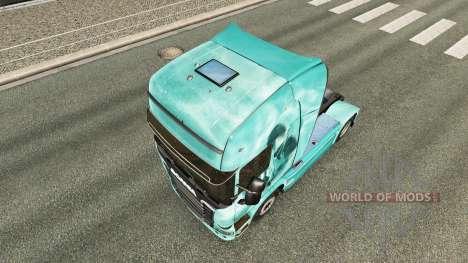Skull skin for truck Scania for Euro Truck Simulator 2