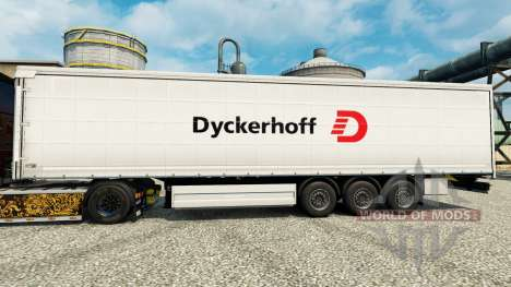 Dyckerhoff skin for trailers for Euro Truck Simulator 2