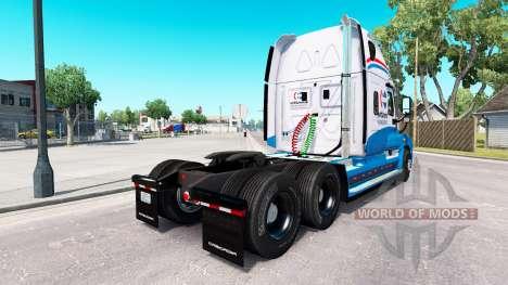 Скин North American на Freightliner Cascadia for American Truck Simulator