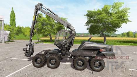 PONSSE ScorpionKing carbon matte for Farming Simulator 2017