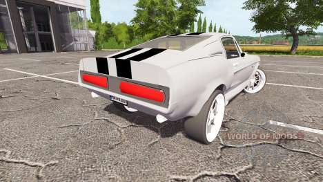 Ford Mustang Shelby GT500 Eleanor v1.1 for Farming Simulator 2017