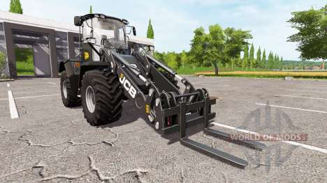 JCB 435S black for Farming Simulator 2017