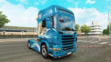 Skin The Griffon tractor Scania for Euro Truck Simulator 2