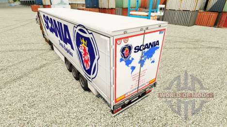 Skin Scania Parts Logistics for trailers for Euro Truck Simulator 2