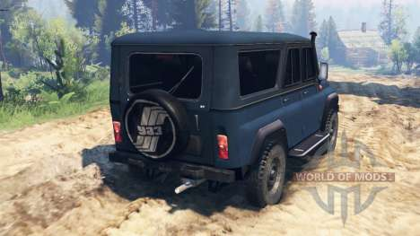 UAZ-3159 bars v2.0 for Spin Tires