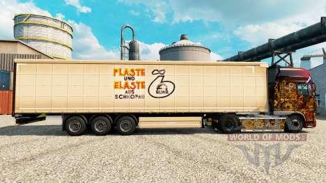Skin Plaste und Elaste for trailers for Euro Truck Simulator 2