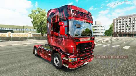 Hintergrund skin for Scania truck for Euro Truck Simulator 2