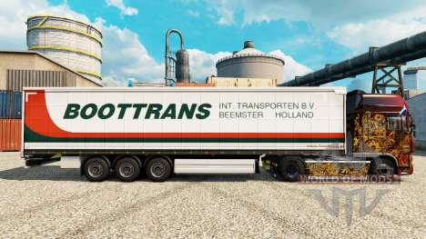 Skin BootTrans for trailers for Euro Truck Simulator 2