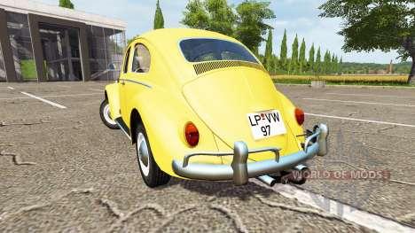 Volkswagen Beetle 1966 for Farming Simulator 2017
