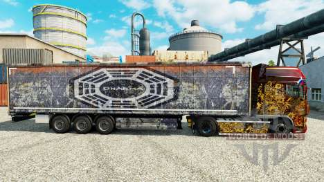 DARPA skin for trailers for Euro Truck Simulator 2