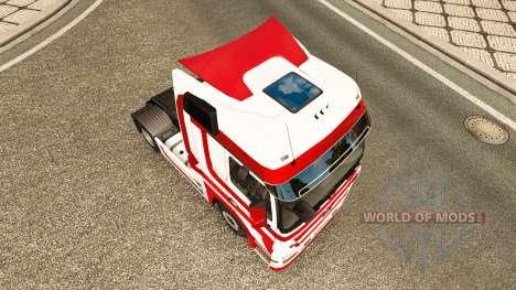 Skin Metallic for tractor Mercedes-Benz for Euro Truck Simulator 2