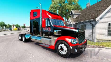 Скин Hell Energy Drink на Freightliner Coronado for American Truck Simulator