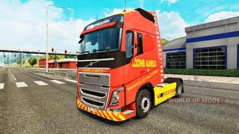 Looms Almelo skin for Volvo truck for Euro Truck Simulator 2