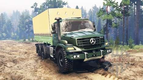 Mercedes-Benz Zetros 2733 A for Spin Tires