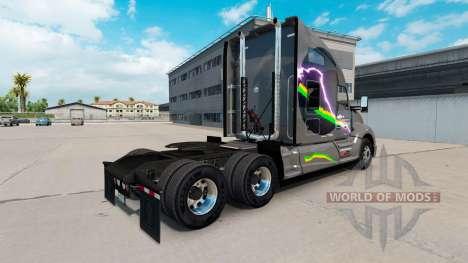 Affari Transport skin for Kenworth T680 tractor for American Truck Simulator